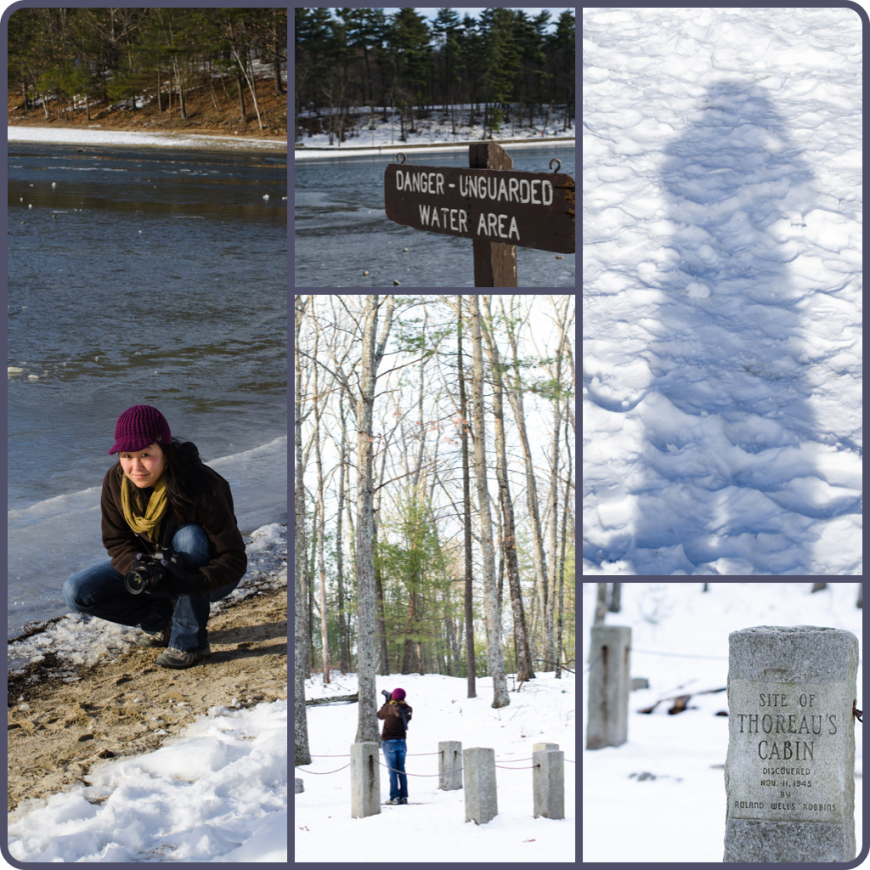 Winter at Walden Pond