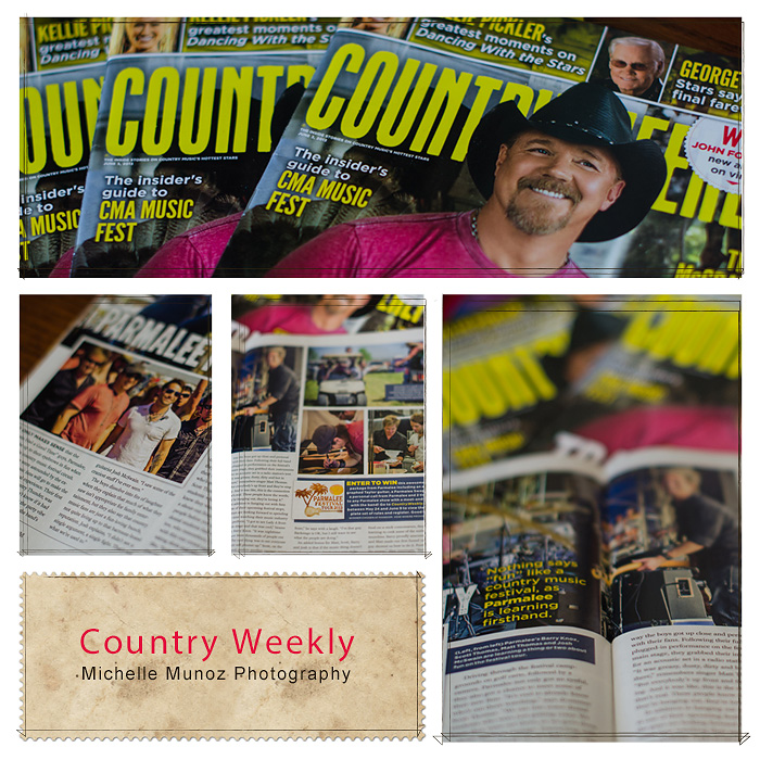 Michelle Munoz Photographs from Country Thunder in Florence Arizona with Parmalee in Country Weekly